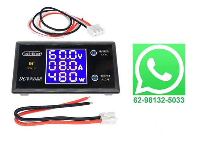Voltímetro Digital Amperímetro Watt Medidor De Potência - 1/2