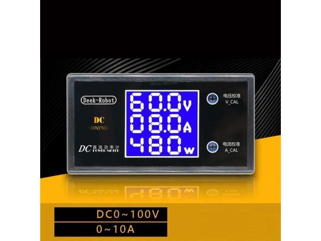 Voltímetro Digital Amperímetro Watt Medidor De Potência - 2/2