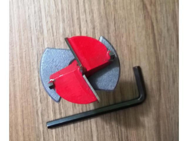 Broca Gabaritada para Dobradiça 35 mm - 1/2