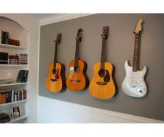 Suporte Violão, Guitarra e Baixo - Suporte de Parede - Imagem 5/5