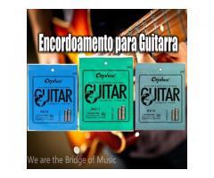 Cordas  para Guitarra  09-010-011 Serie Rx timbre e duração Custo beneficio - Imagem 1/2