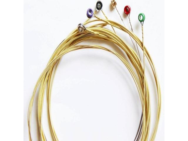Cordas  para Violão de aço -010-0110-012 Serie Rx timbre e duração Custo beneficio - 2/3
