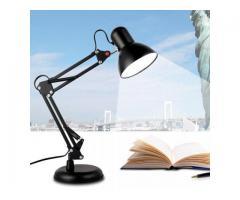 Luminária Articulada de Mesa com Base e Grampo Escritório Estudos Estilo Pixar