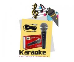 Microfone Dinâmico Profissional Sm58 Mxt M-58 + Cabo 3m Karaokê Igreja Barzinho show - Imagem 3/6
