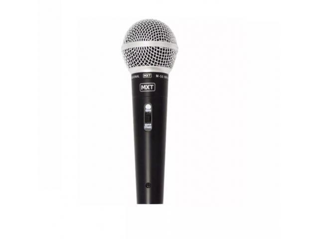 Microfone Dinâmico Profissional Sm58 Mxt M-58 + Cabo 3m Karaokê Igreja Barzinho show - 6/6
