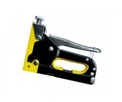 Grampeador Manual Profissional de Metal com Ajuste de Pressão
