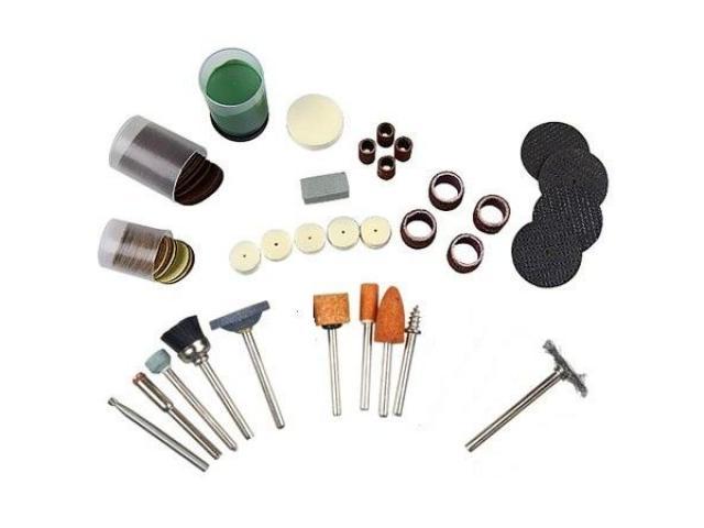 Jogo de Acessórios para Micro Retífica - Kit com 105 pcs - 1/2