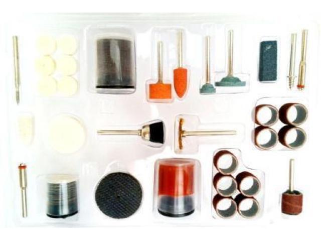 Jogo de Acessórios para Micro Retífica - Kit com 105 pcs - 2/2