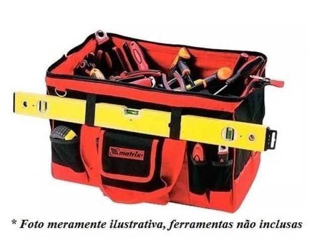 Bolsa para Ferramentas Organizadora - Com 30 Bolsos + 2 Elásticos - 1/5