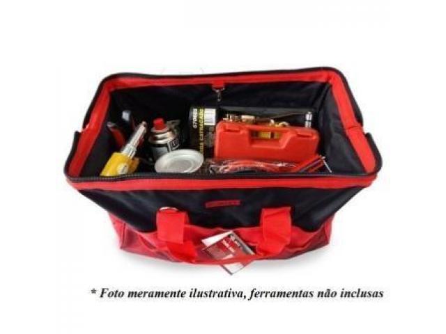 Bolsa para Ferramentas Organizadora - Com 30 Bolsos + 2 Elásticos - 2/5