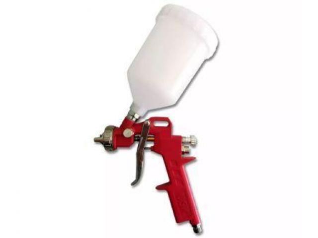 Pistola de Pintura Tanque Alto 600 Ml - 1/3