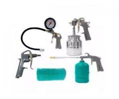 Kit Pintura Pistola para Compressor com 5 Peças - Imagem 2/2