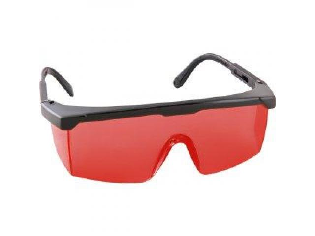 Óculos de Segurança Vermelho para Nível a Laser - 1/2