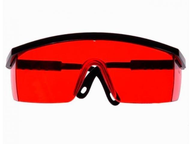 Óculos de Segurança Vermelho para Nível a Laser - 2/2