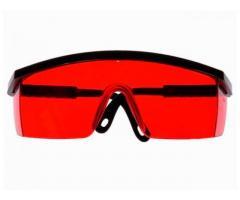 Óculos de Segurança Vermelho para Nível a Laser
