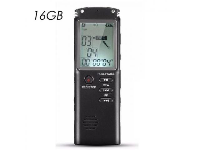 Gravador de Voz Digital USB 16gb Mp3 - 3/3