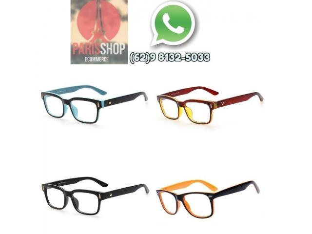 Armação para Óculos de Grau ou Sol Unissex - 1/2