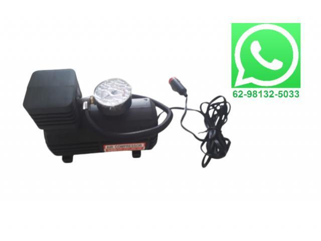 Mini Compressor Carro 12V Emergência - 2/3