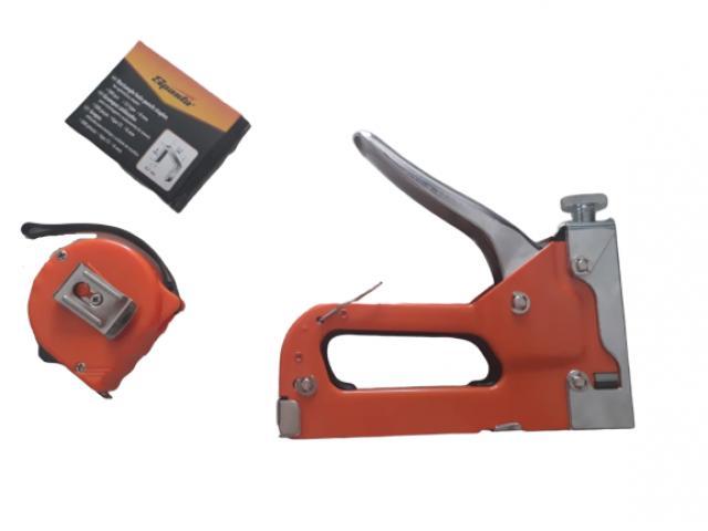 Grampeador Manual com Ajuste de Pressão + Caixa - 2/3