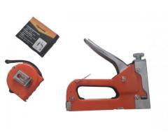 Grampeador Manual com Ajuste de Pressão + Caixa