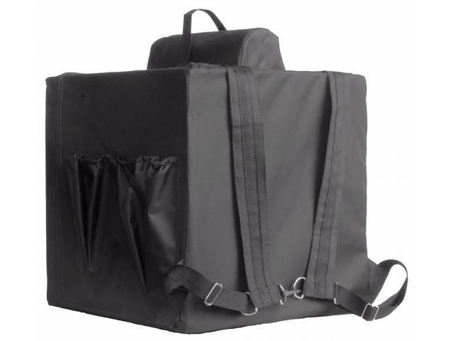Bolsa térmica  Motoboy Bag Entrega tipo IFood Pizzas lanches c/ Isopor - 5/6