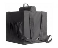 Bolsa térmica  Motoboy Bag Entrega tipo IFood Pizzas lanches c/ Isopor - Imagem 5/6