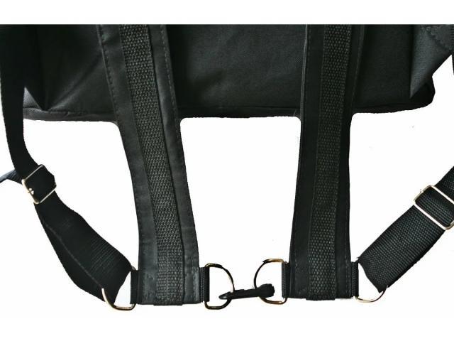 Bolsa térmica  Motoboy Bag Entrega tipo IFood Pizzas lanches c/ Isopor - 6/6