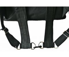 Bolsa térmica 45 litros Motoboy Bag Entrega tipo IFood Pizzas lanches c/ Isopor - Imagem 4/6