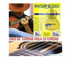 Encordoamento p/ Viola 10 Corda  011 Gesvb - Imagem 1/6