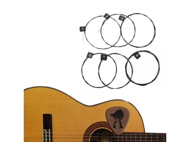 Encordoamento p/ Violão 010 jogo de Corda acoustic guitar cobra fosforo - 2/4