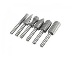 Lima Rotativa Metal Fresar Desbastar Arestas Jogo com 6 Pcs - Imagem 3/3