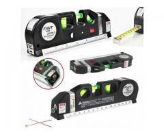 Nível a laser  a Laser com Trena de mão portatil 3x 1