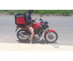 Bolsa térmica 45 litros Motoboy Bag Entrega tipo IFood Pizzas lanches c/ Isopor - Imagem 6/6
