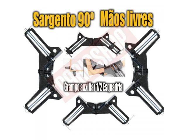 Grampo Sargento Angular 90 Graus - Kit com 4 Grampos - 5/5