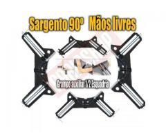 Grampo Sargento Angular 90 Graus - Kit com 4 Grampos - Imagem 5/5