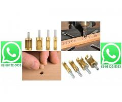 Cortador de Cavilha Broca Perfect Hole Kit 4 Pç Titanium