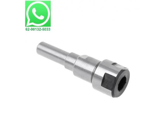 Prolongador Extensor Adaptador para Fresa Tupia Encaixe e Haste 8mm - 1/2