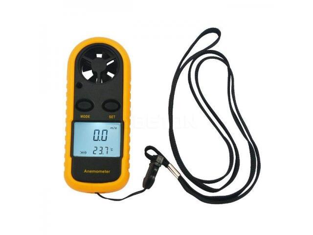 Anemômetro Medidor Vento e Temperatura Digital Portátil - 2/2