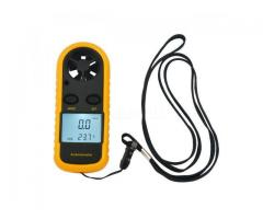 Anemômetro Medidor Vento e Temperatura Digital Portátil