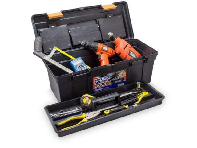 Caixa Box para Ferramentas Multi Uso - Caixa Organizadora - 1/2