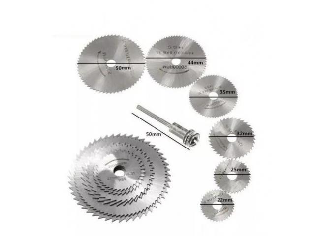 Disco de Corte p/madeira Micro Retífica Microretifica - 1/2