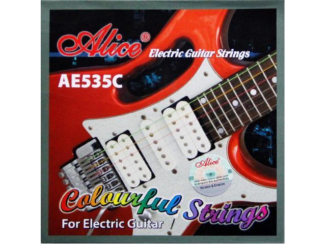 Jogo de Corda Colorida para Guitarra 0.9 - 1/3