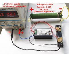 Voltímetro DC Wattímetro Amperímetro 4 em 1 6.5V a 100VDC 100A PZEM-051