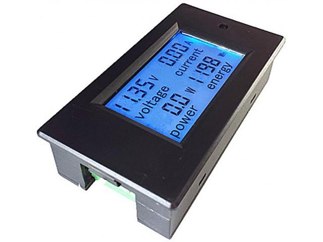 Voltímetro DC Wattímetro Amperímetro 4 em 1 6.5V a 100VDC 100A PZEM-051 - 5/5