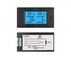 Voltímetro AC Wattímetro Amperímetro 4 Em 1 80V a 260VAC 100A - PZEM-061 - Imagem 4/6