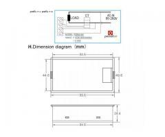 Voltímetro AC Wattímetro Amperímetro 4 Em 1 80V a 260VAC 100A - PZEM-061 - Imagem 6/6
