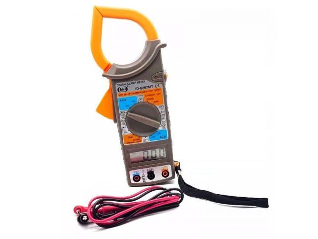 Alicate Amperímetro Multímetro Digital Clamp - 2/2