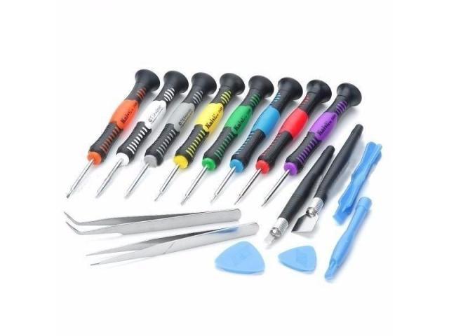 Chave de Precisão Manutenção Celular,Iphone,Samsung,Motorola,Macbook - Jogo 16 peças - 1/2