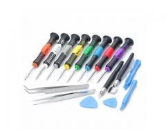 Chave de Precisão Manutenção Celular,Iphone,Samsung,Motorola,Macbook - Jogo 16 peças