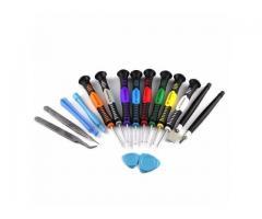 Chave de Precisão Manutenção Celular,Iphone,Samsung,Motorola,Macbook - Jogo 16 peças - Imagem 2/2